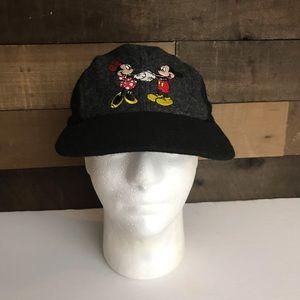 Vintage Mickey minnnie  unlimited wool blend hat